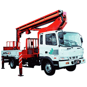 vehicle boom Vehicle Mounted Boom Lift